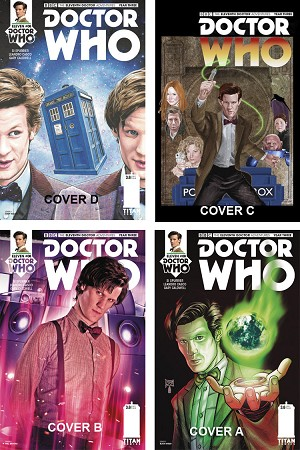 Doctor Who Comic: Eleventh Doctor, Year 3, Issue 08