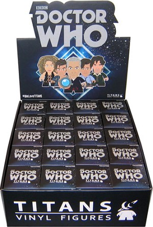 Titans Doctor Who Vinyl Figure, Regeneration Wave