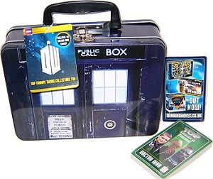 Doctor Who: Top Trumps TARDIS Collector Tin