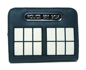 TARDIS Wallet/Purse with Antique Interior