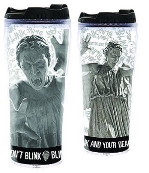 Doctor Who Weeping Angels Lidded Flask