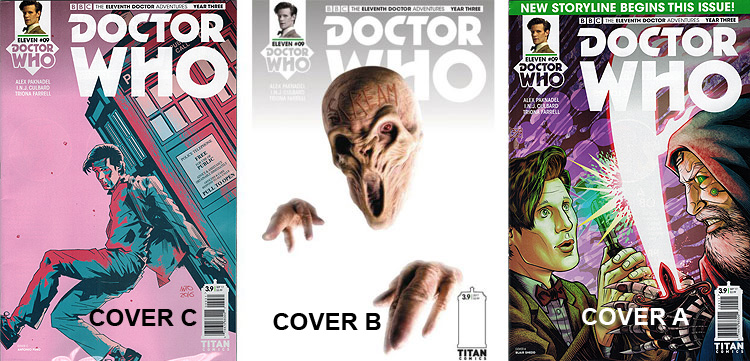 Doctor Who Comic: Eleventh Doctor, Year 3, Issue 09