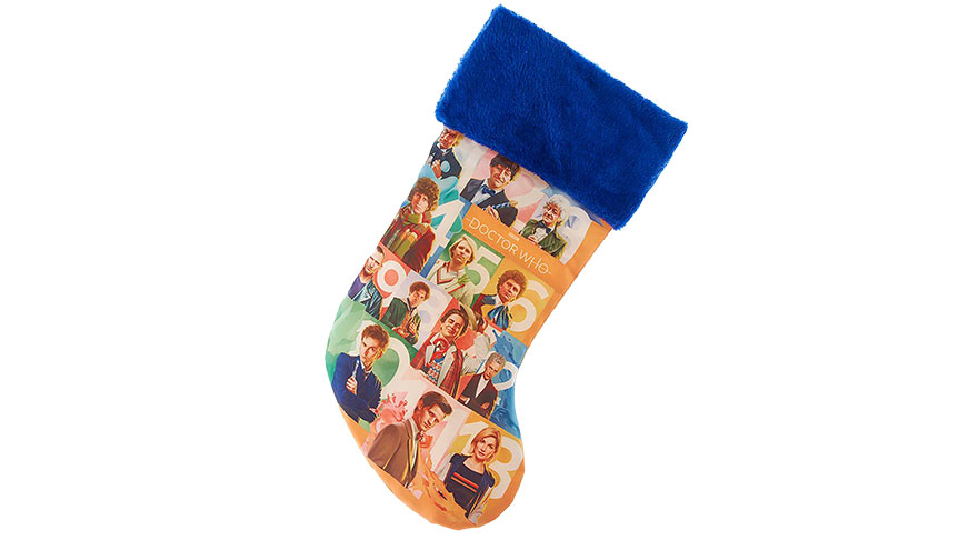 Doctor Who 13 Doctors Christmas Stocking