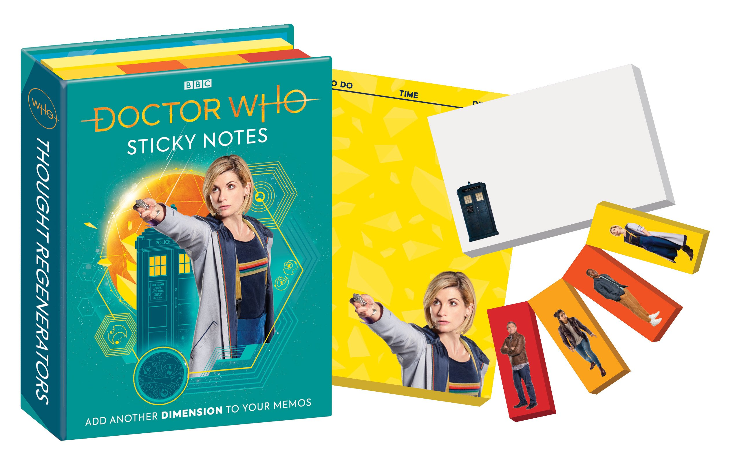 Doctor Who Sticky Notes (Whittaker)