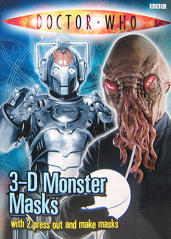 Doctor Who 3-D Monster Masks