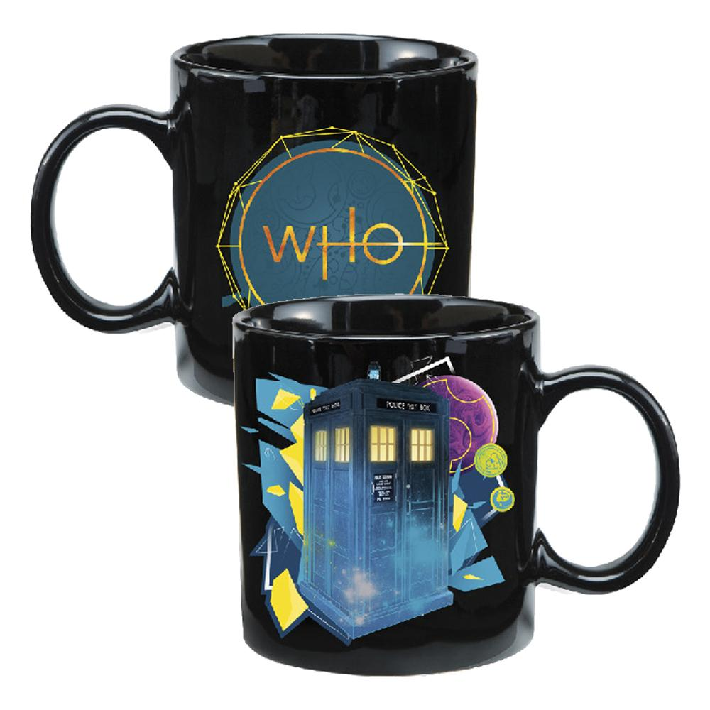 Doctor Who 12oz Heat Reactive TARDIS Mug