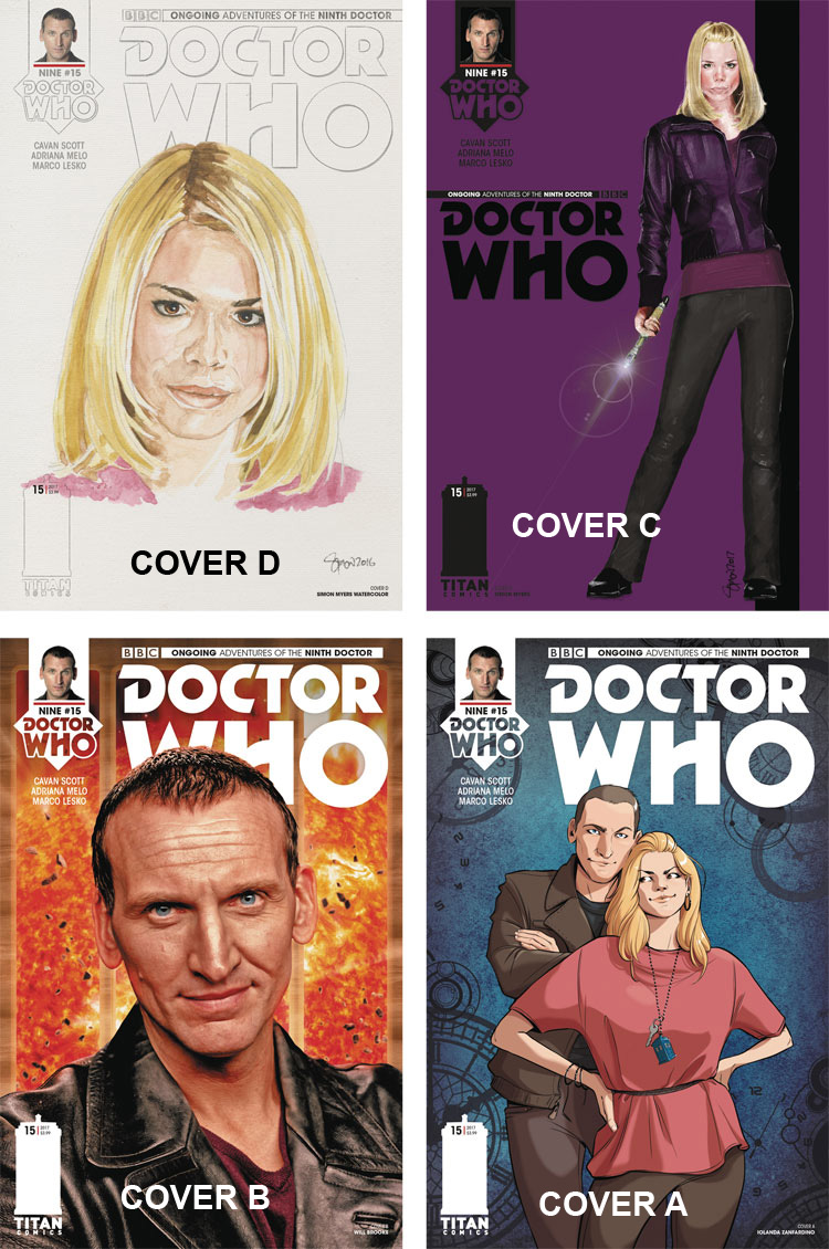 Doctor Who Comic: Ninth Doctor, Issue 15