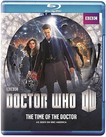 Time of the Doctor: Blu-Ray