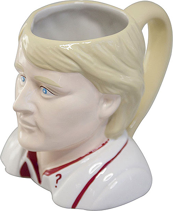 Ceramic 3D Mug: 5th Doctor