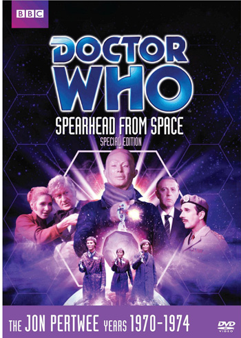 DVD 051: Spearhead from Space (Special Edition)