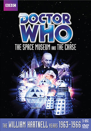 DVD 015, 016: The Space Museum/The Chase