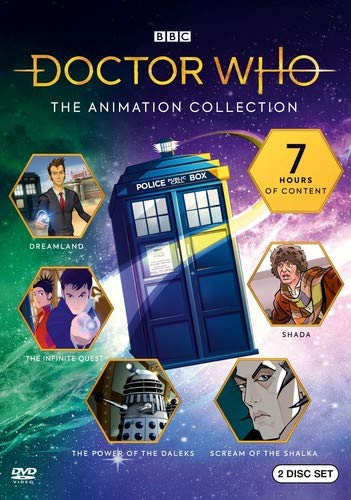 DVD Doctor Who: The Animated Collection