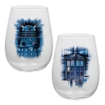 Doctor Who Contour 18 oz. Glass Set of 2