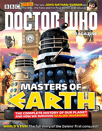 Doctor Who Magazine, Issue 487