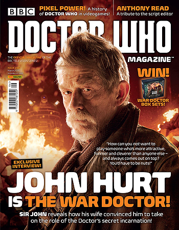 Doctor Who Magazine, Issue 496