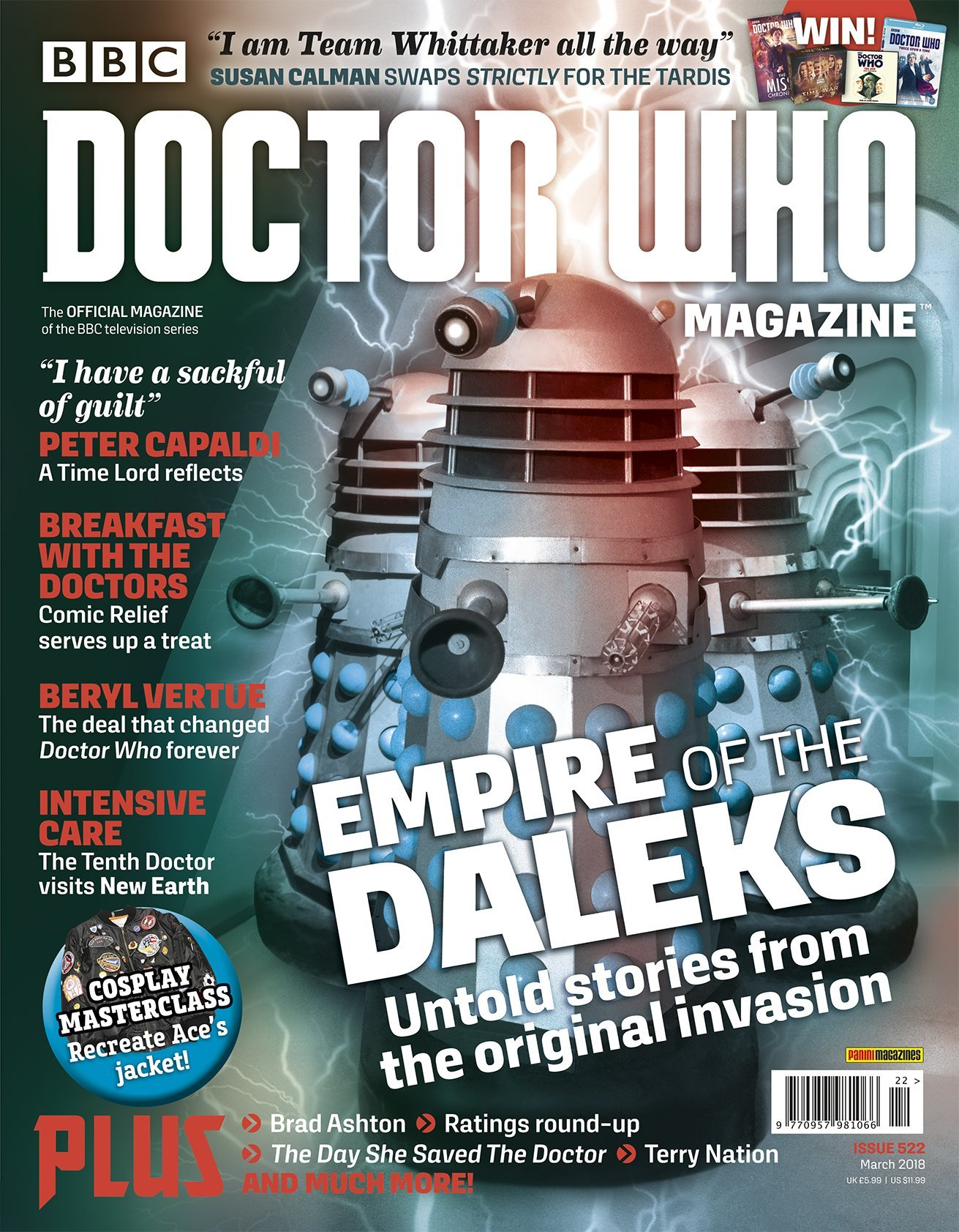 Doctor Who Magazine, Issue 522