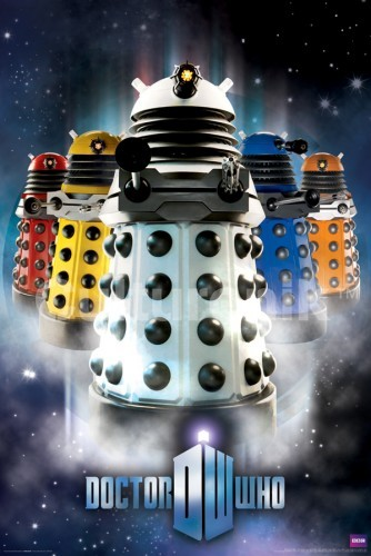 Doctor Who Poster: New Paradigm Daleks