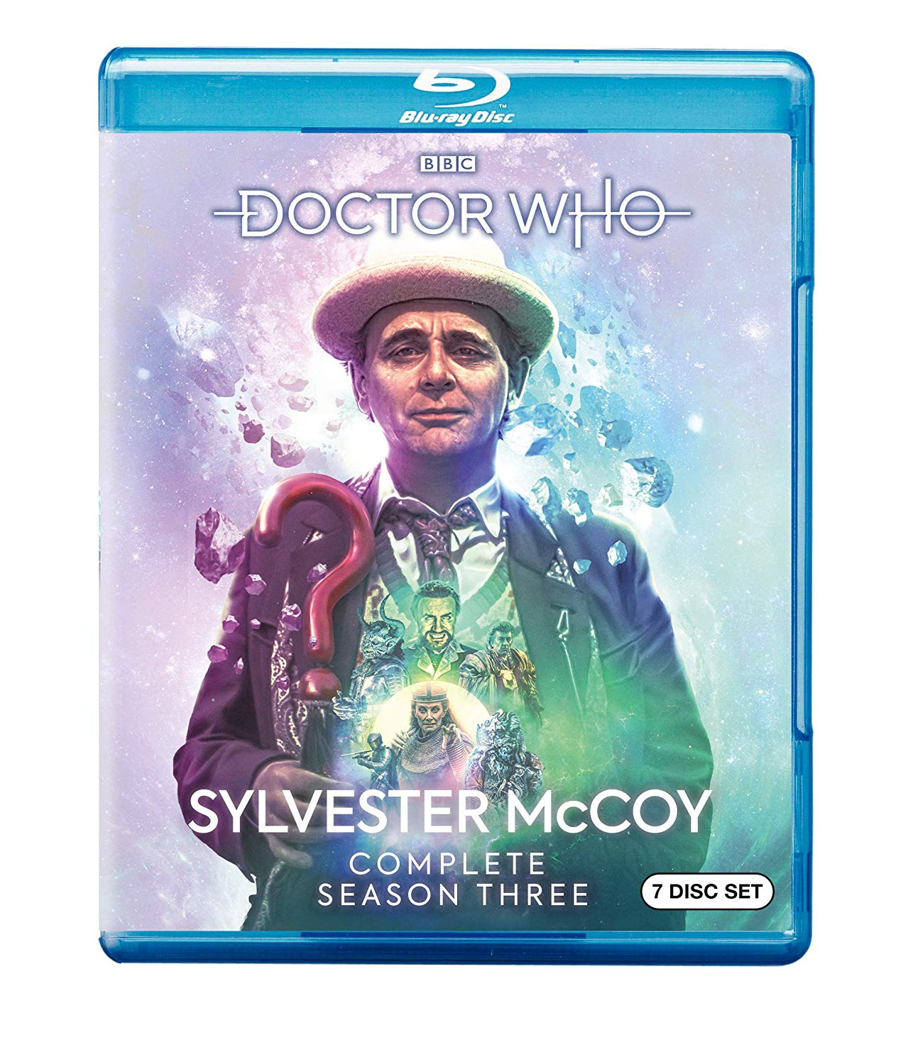 Blu-ray: Doctor Who Sylvester McCoy, Season 3