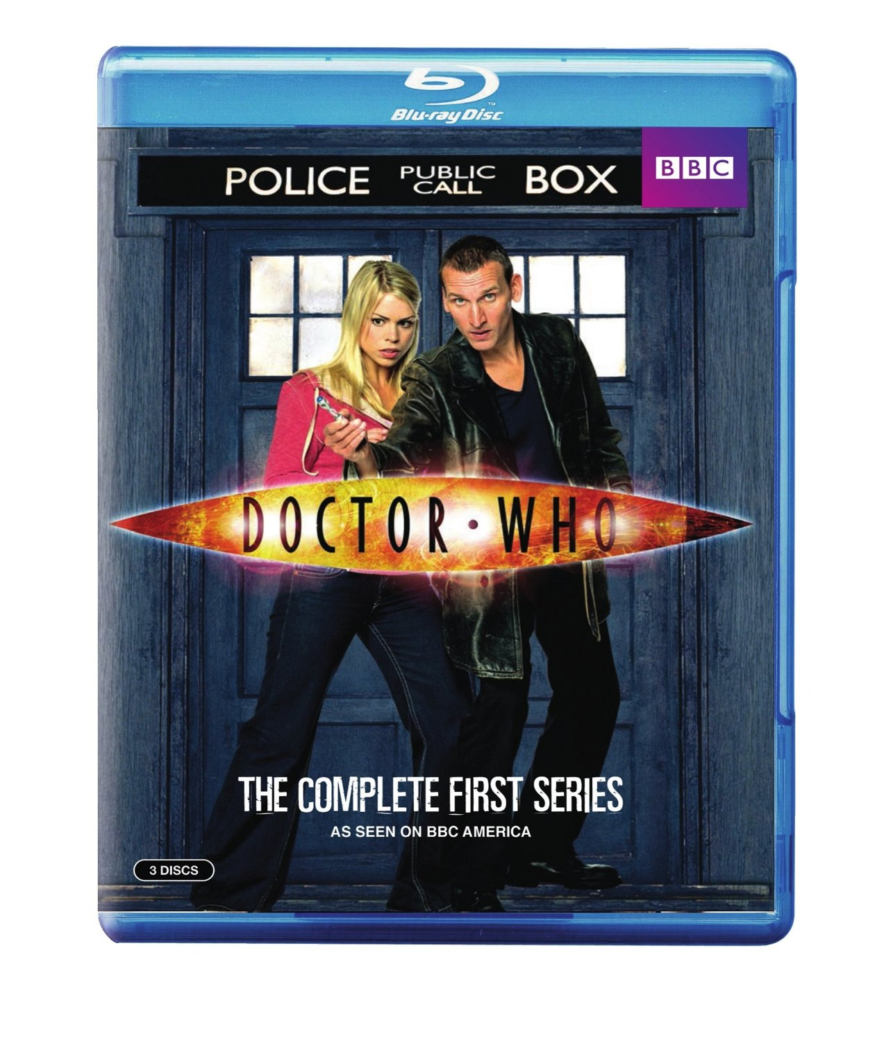 Blu-ray: Doctor Who Series 1 (One)