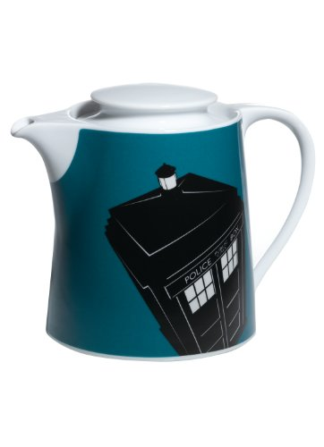 Doctor Who Teapot: TARDIS in Flight