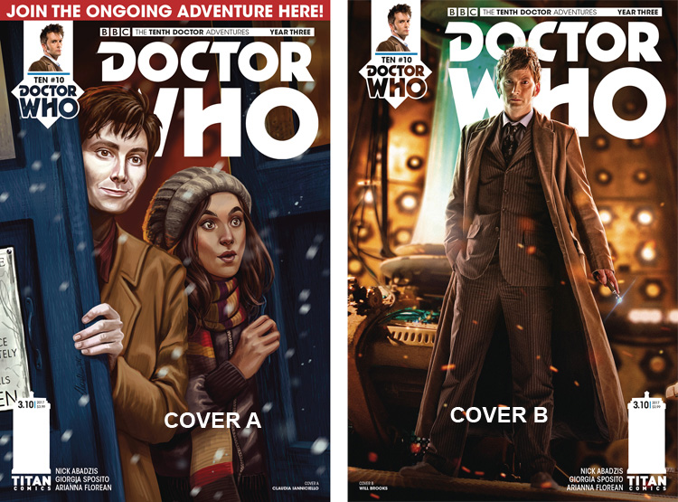 Doctor Who Comic: Tenth Doctor, Year 3, Issue 10