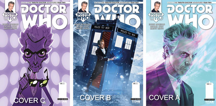 Doctor Who Comic: Twelfth Doctor, Year 2, Issue 14