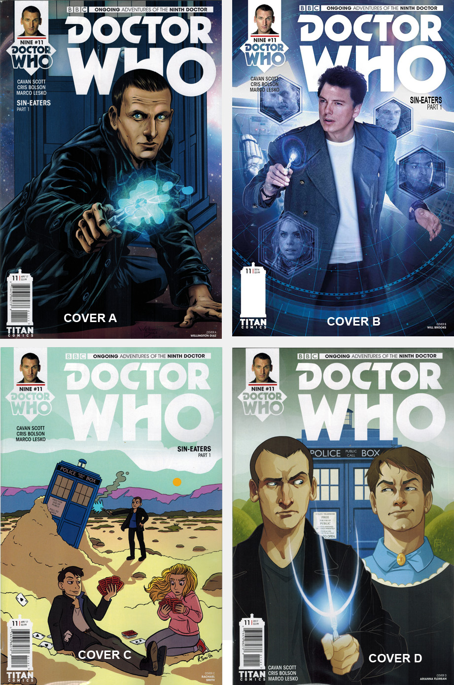Doctor Who Comic: Ninth Doctor, Issue 11