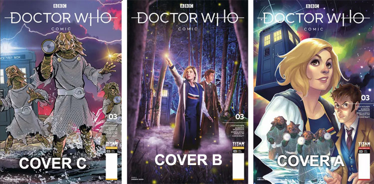 Titan Doctor Who Comic, Issue 3