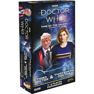 Doctor Who Time of the Daleks Boardgame Expansion: 3rd and 13th Doctors, Bonus 8th Doctor