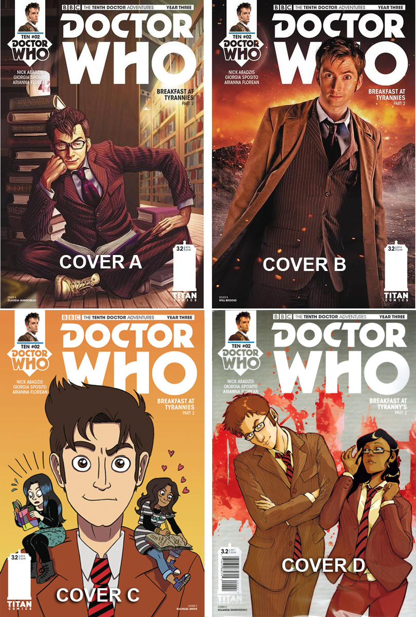 Doctor Who Comic: Tenth Doctor, Year 3, Issue 02