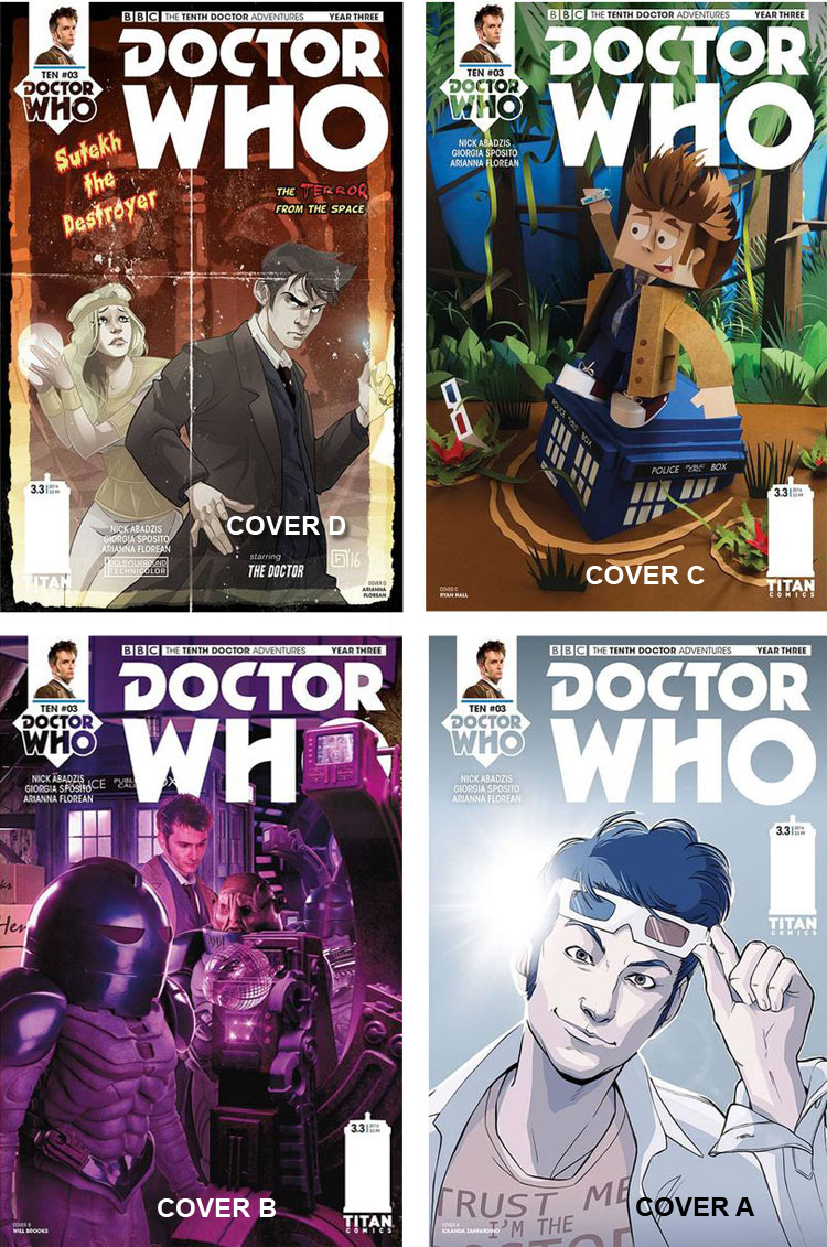 Doctor Who Comic: Tenth Doctor, Year 3, Issue 03