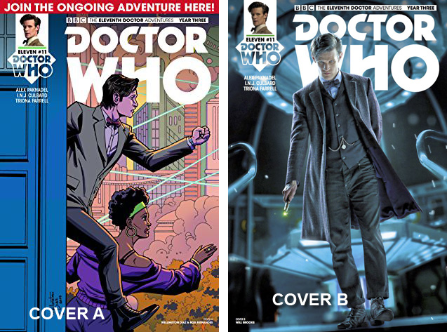 Doctor Who Comic: Eleventh Doctor, Year 3, Issue 11