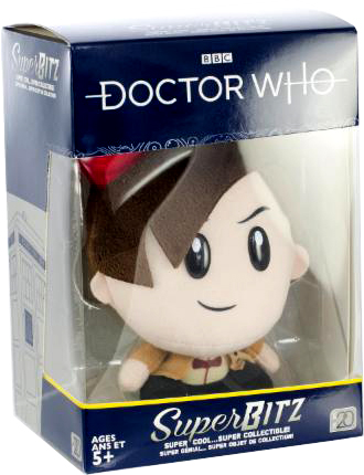 Doctor Who SuperBitz 11th Doctor Plushie