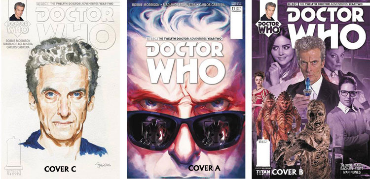 Doctor Who Comic: Twelfth Doctor, Year 2, Issue 11