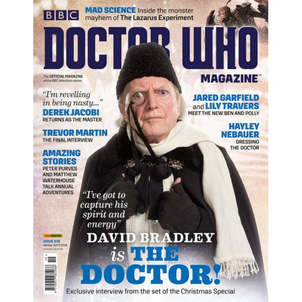 Doctor Who Magazine, Issue 519