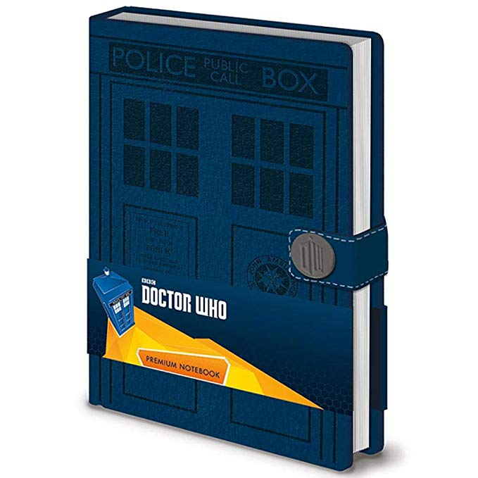 TARDIS Lined Premium Notebook Journal