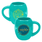 Doctor Who 18oz Teal Green Oval Mug