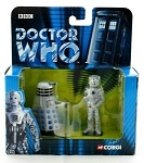 Corgi Die Cast Dalek and Cyberman