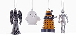 Doctor Who 4 Ornament Gift Set (with Adipose)