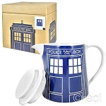 Doctor Who Teapot: TARDIS