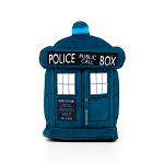 Doctor Who SuperBitz TARDIS with 13th Doctor Enamel Pin