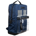Backpack: TARDIS with Clear Front Pouch