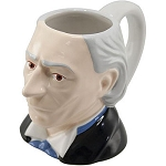Ceramic 3D Mug: 1st Doctor