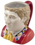 Ceramic 3D Mug: 6th Doctor