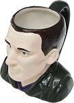 Ceramic 3D Mug: 9th Doctor