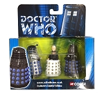 Corgi 2 Die Cast Dalek and Davros Set