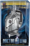 Cyberman Head Glass Christmas Ornament