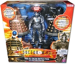 Mini RC Dalek Battle Pack with Cyberman Figure