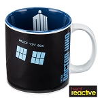 TARDIS Heat Reactive 20 oz Ceramic Mug