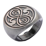 Doctor Who Ring: The Seal of Rassilon